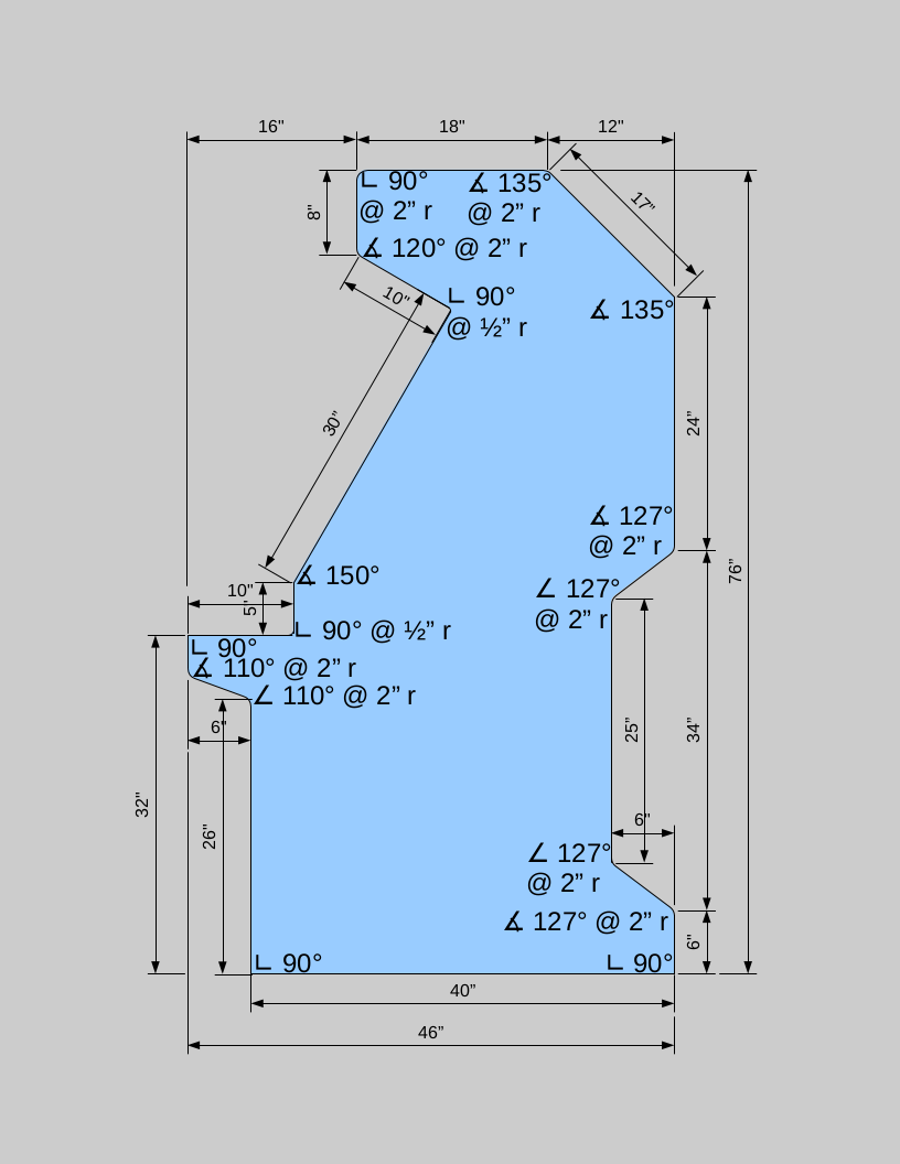 Arcade Cabinet Dimensions The 1 Mame Cabinet